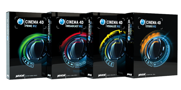 Cinema4D R12 packages