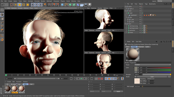 Cinema 4D R13  Accessible Character Tools