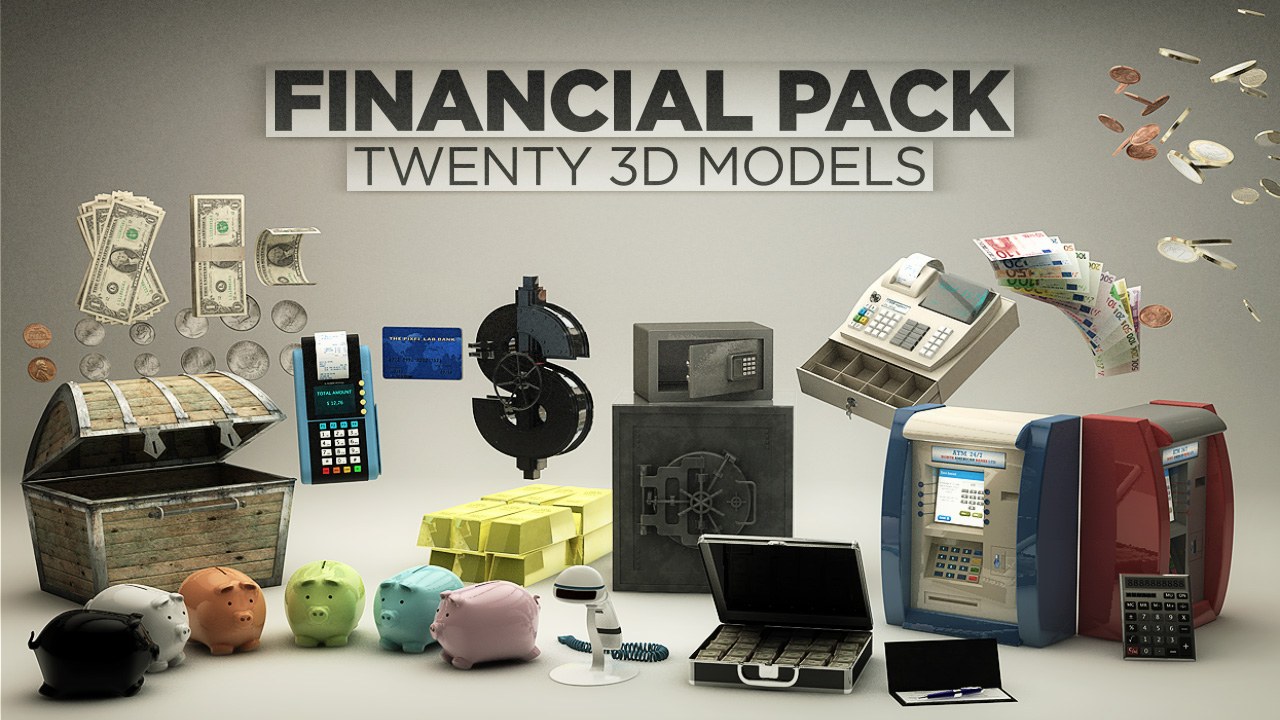 ThePixelLab FINANCIAL PACK