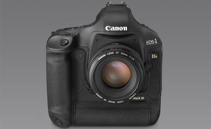 Front Canon EOS-1Ds Mark III