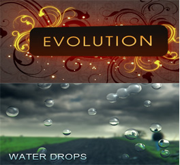 Evolution Water Drops